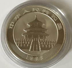 Moneta > 10yuan, 1993 - Cina  (Panda) - obverse