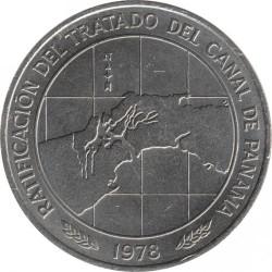 Monēta > 10balboa, 1978 - Panama  (Ratification of the Panama Canal Treaty) - reverse