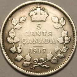 Münze > 5Cent, 1912-1919 - Kanada   - reverse