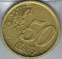 Moneta > 50centesimidieuro, 1999-2006 - Belgio  - obverse