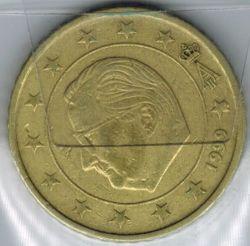 Moneta > 50centesimidieuro, 1999-2006 - Belgio  - reverse