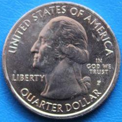 Moneda > ¼dollar, 2017 - Estats Units  (Quarter del Monument Nacional d'Effigy Mounds) - obverse