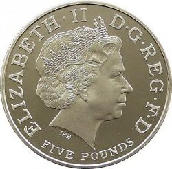 Moneta > 5sterline, 2005 - Regno Unito  (200th Anniversary - Death of Horatio Nelson) - obverse