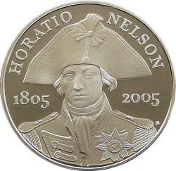 Moneta > 5sterline, 2005 - Regno Unito  (200th Anniversary - Death of Horatio Nelson) - reverse