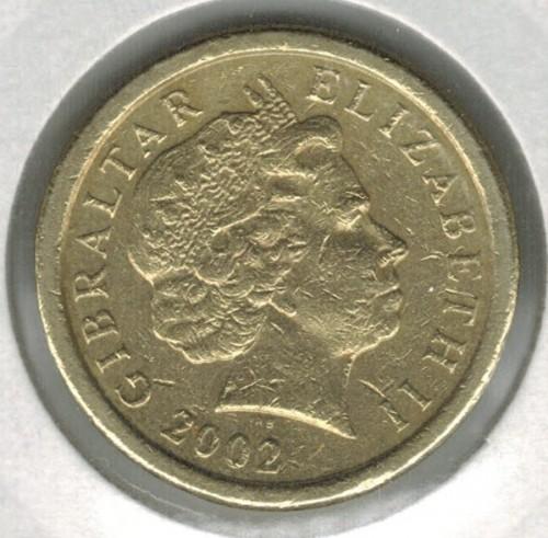 1 Pfund 1998 2002 Gibraltar Münzen Wert Ucoinnet