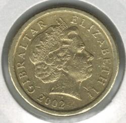 Coin > 1pound, 1998-2002 - Gibraltar  - obverse