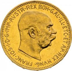 سکه > 20کرونا, 1909-1915 - اتریش   - obverse