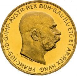 Munt > 100corona, 1909-1915 - Oostenrijk  - obverse