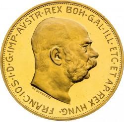 錢幣 > 100克朗, 1909-1915 - 奧地利  - obverse