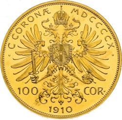 錢幣 > 100克朗, 1909-1915 - 奧地利  - reverse