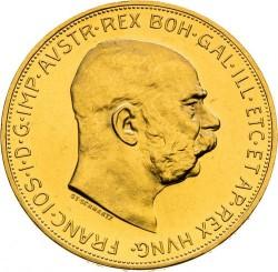 Moneta > 100koron, 1909-1915 - Austria  - obverse