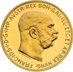 Moneta > 100corone, 1913 - Austria  - obverse