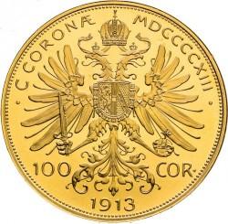 Moneta > 100corone, 1913 - Austria  - reverse