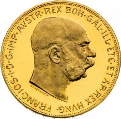 Moneta > 100corone, 1915 - Austria  - obverse