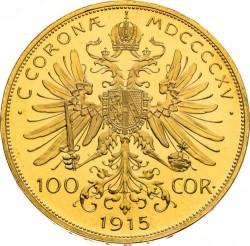 Moneta > 100corone, 1915 - Austria  - reverse