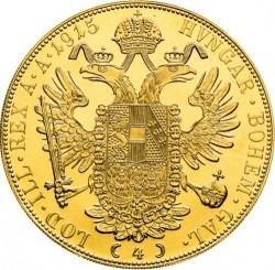 Moneta > 4dukaty, 1872-1915 - Austria  - reverse