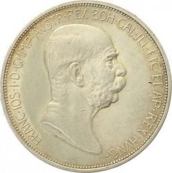 سکه > 5کرونا, 1909 - اتریش   (W/o lettering below bust) - obverse