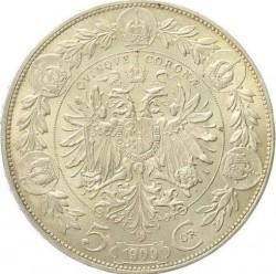 سکه > 5کرونا, 1909 - اتریش   (W/o lettering below bust) - reverse