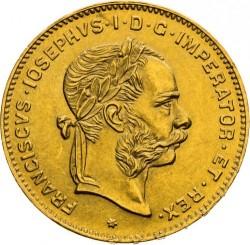 Монета > 4флорина, 1870-1892 - Австрия  - obverse