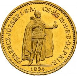 Moneda > 10korona, 1892-1915 - Hongria  - obverse
