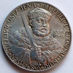 Moneda > 2marcos, 1908 - Alemán (Imperio)  (350º Aniversario - Universidad de Jena) - obverse