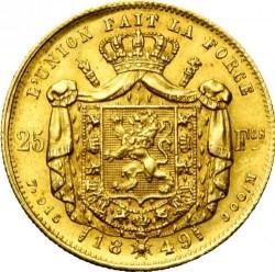 Moneta > 25franków, 1848-1850 - Belgia  - reverse