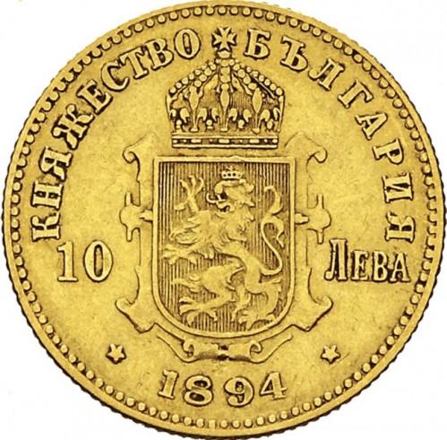 10 Lewa 1894 Bulgarien Münzen Wert Ucoinnet