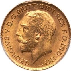Minca > 1pound(sovereign), 1914 - Veľká Británia  - obverse
