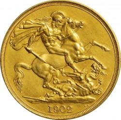 Кованица > 2фунте, 1902 - Уједињено Краљевство  - reverse
