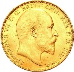 Münze > 1Pfund(Sovereign), 1902-1910 - Vereinigtes Königreich   - obverse