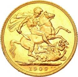 Münze > 1Pfund(Sovereign), 1902-1910 - Vereinigtes Königreich   - reverse