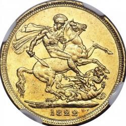 Moneta > 1suweren, 1821-1825 - Wielka Brytania  - reverse
