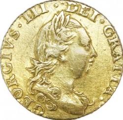 العملة > ½غينيا, 1775-1786 - المملكة المتحدة  - obverse
