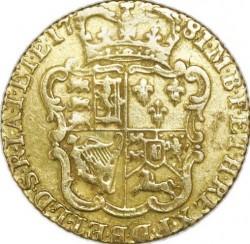 العملة > ½غينيا, 1775-1786 - المملكة المتحدة  - reverse