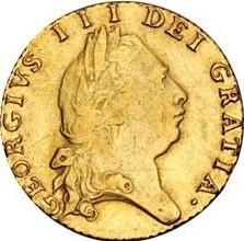 Moneda > ½guinea, 1787-1800 - Reino Unido  - obverse