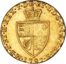 Moneda > ½guinea, 1787-1800 - Reino Unido  - reverse