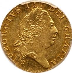 Moeda > ½guinea, 1801-1803 - Reino Unido  - obverse