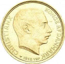 20 Kronen 1913 1917 Dänemark Münzen Wert Ucoinnet