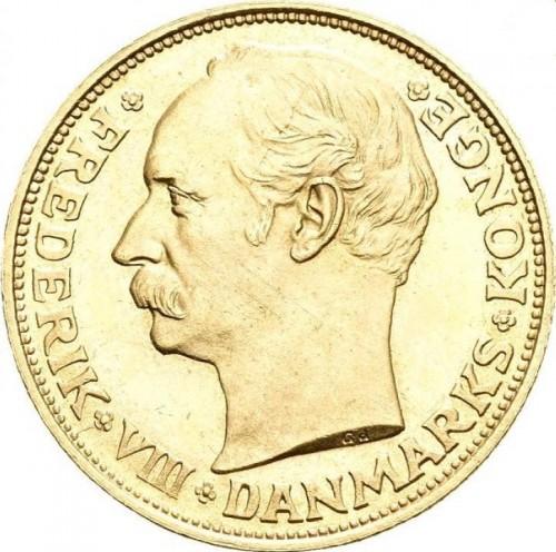 20 Kronen 1908 1912 Dänemark Münzen Wert Ucoinnet