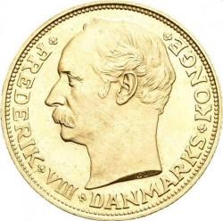 Monedă > 20coroane, 1908-1912 - Danemarca  - obverse