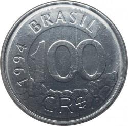 Moneta > 100kruzeirų-realų, 1993-1994 - Brazilija  - reverse