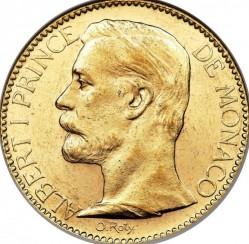 Кованица > 100франака, 1891-1904 - Монако  - obverse