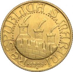 מטבע > 20לירות, 1925 - סן-מרינו  - obverse