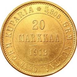 Moneta > 20markkaa, 1878-1913 - Finlandia  - reverse