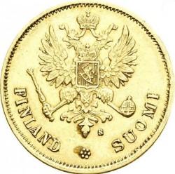 Coin > 10markkaa, 1878-1913 - Finland  - obverse