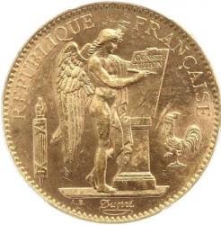 Pièce > 100francs, 1878-1906 - France  - obverse