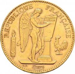 מטבע > 100פרנק, 1907-1914 - צרפת  - obverse