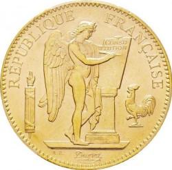 Monedă > 100franci, 1907-1914 - Franța  - obverse