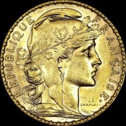 سکه > 20فرانک, 1899-1906 - فرانسه  - obverse