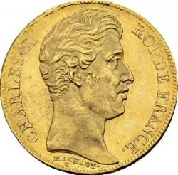 العملة > 20فرنك, 1825-1830 - فرنسا  - obverse